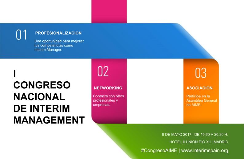 CONGRESO NACIONAL DE INTERIM MANAGEMENT