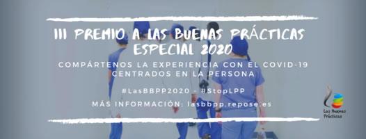 Banner Premio a las Buenas Practicas 2020