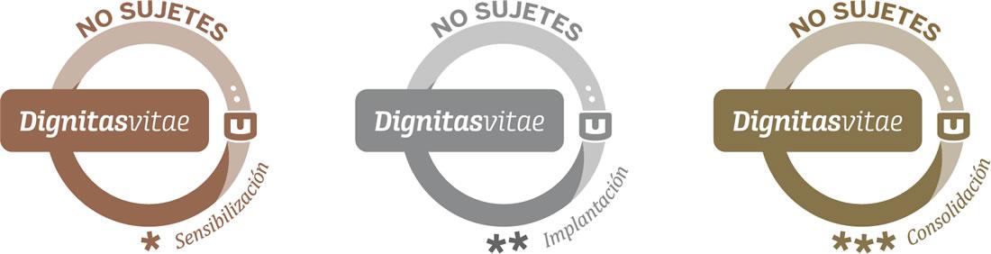 Dignitas Vitae - Logotipos No Sujetes
